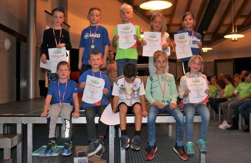 Abschlussfeier Sparkassen-KILA-Cup 2019