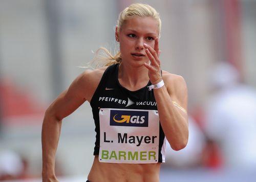 """100-Meter-Sieg mit Olympianorm und neue """"PB"""" für Lisa Mayer beim Meeting """"Road to Tokio"""" in Mannheim"""