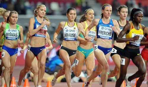Gesa Felicitas Krause holt in deutscher Rekordzeit WM-Bronze in Doha