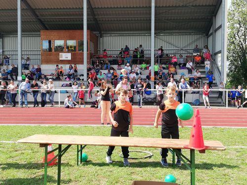 Kunterbuntes Leichtathletik-Fest